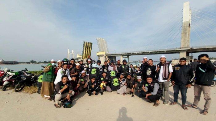 Berbagai kegiatan Komunitas Bikers Subuhan Pangkalpinang