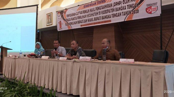 KPU Bangka Tengah Anggarkan 558 Juta Dana Kampanye Pasangan Calon Kepala Daerah