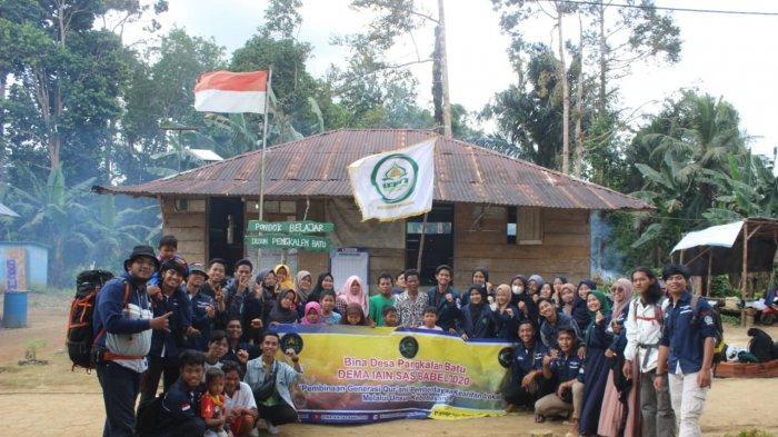Merajut Kebersamaan Melalui Bina Desa oleh DEMA IAIN SAS Bangka Belitung