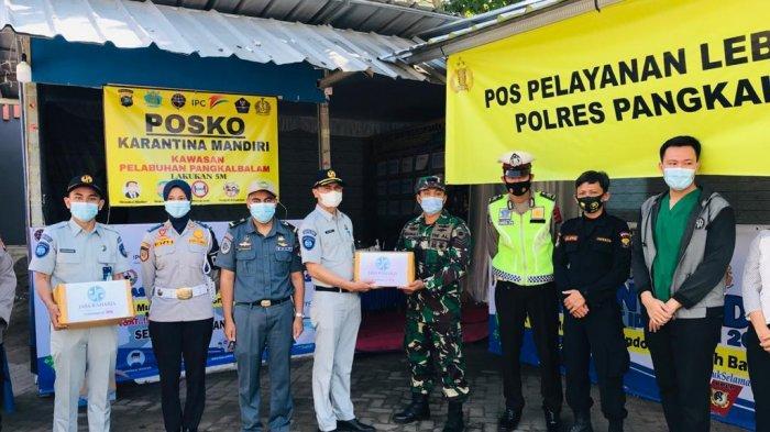 Jasa Raharja Bangka Belitung Gelar Aksi Simpatik Dukung Operasi Ketupat Menumbing 2021