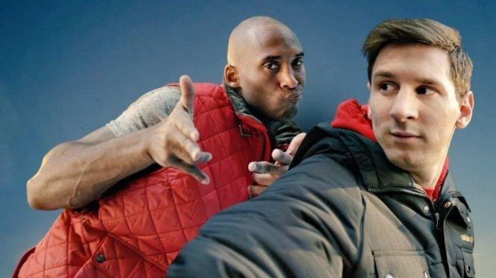 Sebelum Kecelakaan Maut, Kobe Bryant Ungkap Kekaguman pada Messi dan Ronaldo