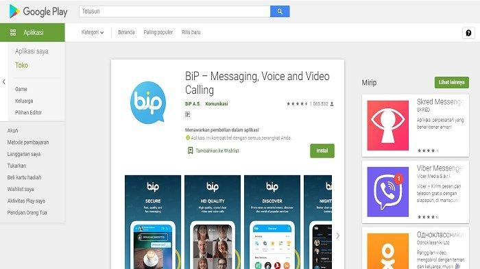 Download BiP Aplikasi Pesan, Panggilan Suara dan Video Buatan Turki, Apa Bedanya Dengan WhatsApp ?