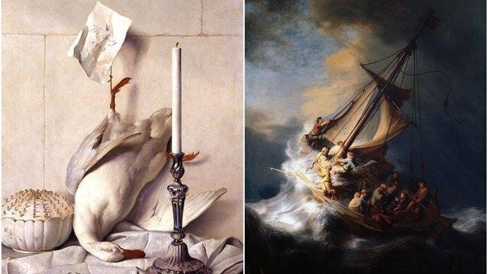 LUKISAN-lukisan Termahal di Dunia, Ada yang Bernilai Triliunan hingga Tak Ternilai