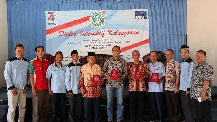 Persatukan Umat Pasca Pemilu, BKPRMI Kabupaten Bangka Gelar Dialog Interaktif Kebangsaan