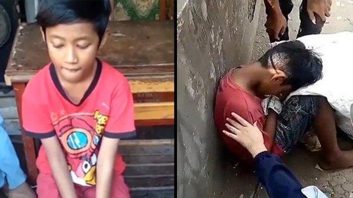 Video Viral Bocah Pemulung Dikira Meninggal Karena Kelaparan, Ternyata Begini Faktanya