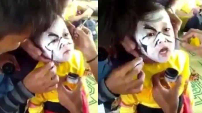 Jadi Viral, Anak ini Tiba-tiba Teriak 'Allahuakbar, Aku Jadi Setan, Aku Setan, Mati Aku!'