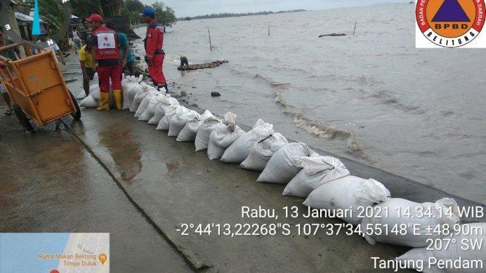 Begini Respon DPRD Pangkalpinang Soal Banjir di Pantai Pasirpadi
