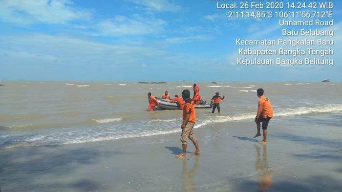 Anaknya Hilang di Laut, Sang Ayah: Tiba-tiba Dul Muncul Lalu Hilang Bersama Wanita Baju Merah