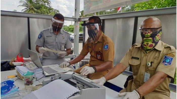 Jasa Raharja Terapkan Protokol Kesehatan Pada Pelayanan SAMSAT