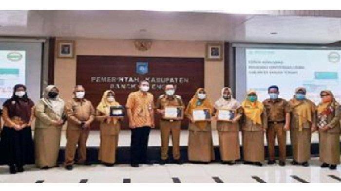 Integrasikan Perangkat Desa, Pemkab Bangka Tengah Raih Penghargaan dari BPJS Kesehatan