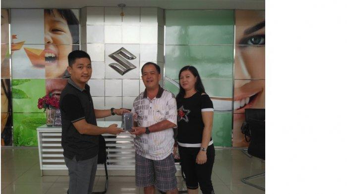 Sak Pin Dihadiahi Jagorawi Motor IPhone 8 Hadiah Pesta Akhir Tahun Suzuki