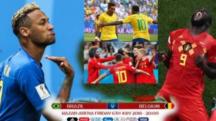 Prediksi, Data dan Fakta Laga Brasil Vs Belgia, Tim Mana Paling Diunggulkan?
