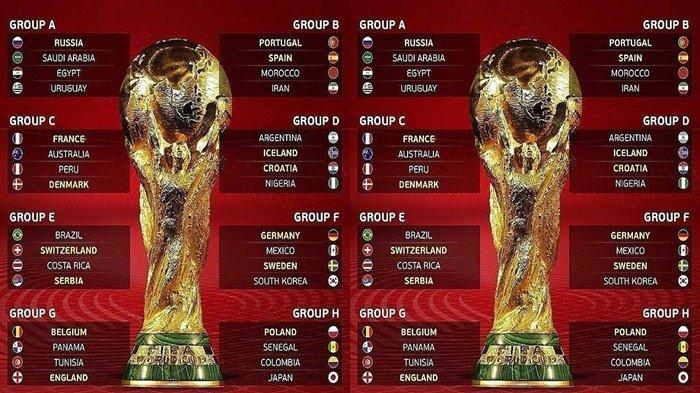 Inilah Skenario Tim yang Lolos dan Gagal ke 16 Besar Piala Dunia 2018