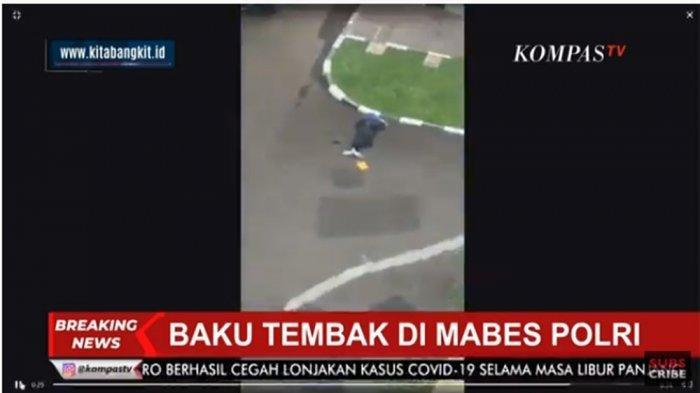 BREAKING NEWS Baku Tembak di Mabes Polri, Diduga Serangan Teroris, Pelaku Terkapar