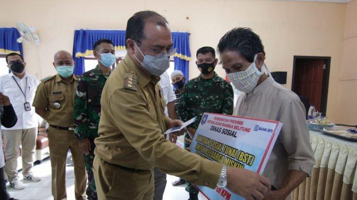 BST Kemensos Selesai Diberikan, BST dari Pemprov Bangka Belitung untuk 13.273 KK Penerima Bantuan