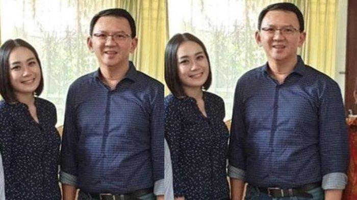 Lama Tak Muncul, Ahok BTP Tepergok Rangkul Puput Nastiti Devi Sambil Bawa Bunga dan Kue Ulang Tahun