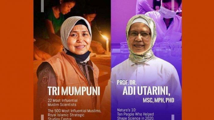Jokowi Unggah Foto Dua Wanita Berprestasi ini, Nama Adi Utarini dan Tri Mumpun Mendadak jadi Viral