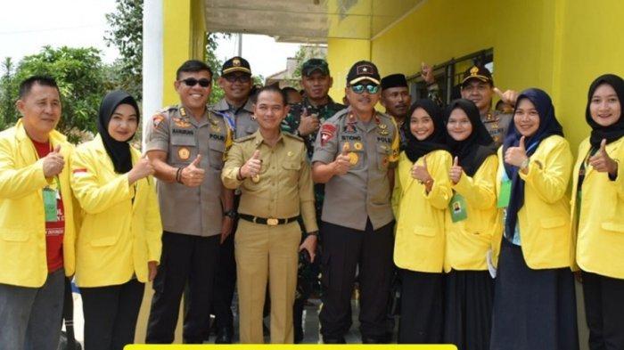 Polisi Puji Outing Class Mahasiswa di Ajang Pilkades Kabupaten Bangka