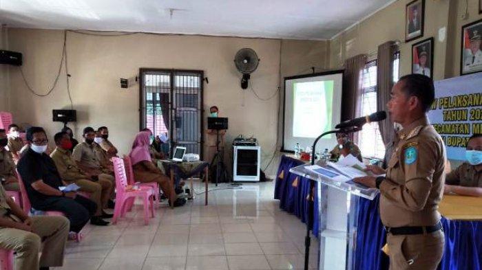 10 Desa di Kecamatan Merawang Dapat Tambahan Insentif Rp2,9 Miliar untuk APBDes 2021