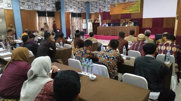 Tingkatkan Pelayanan Masyarakat, Apdesi Kabupaten Bangka Gelar Bimtek Penguatan BPD