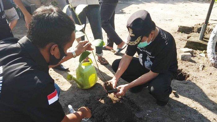 Ibnu Saleh Ajak Anak Muda Bangka Tengah Tanam 1000 Pohon