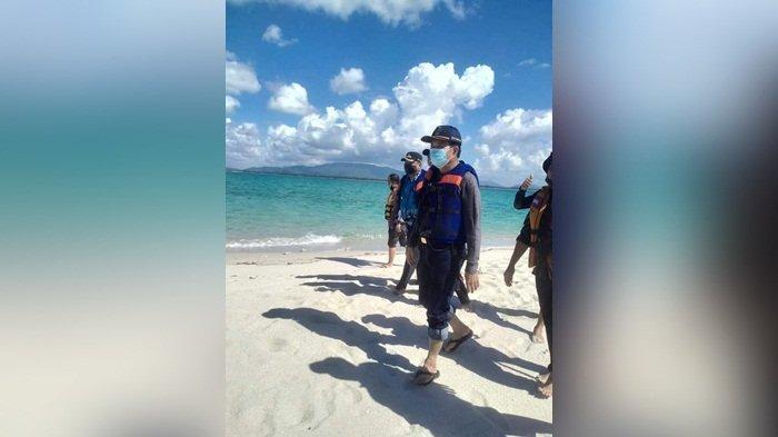 Kunjungi Pulau Gusung Perlang, Bupati Ibnu Saleh Rencanankan Pengembangan Wisata