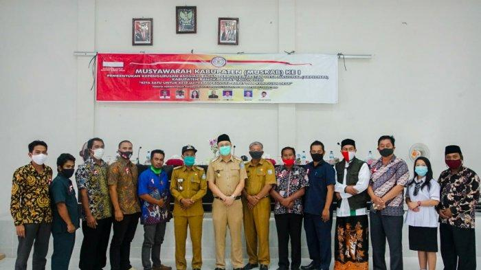 Foto bersama usai pembukaan Muskab BPD