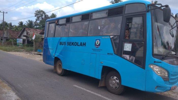 Biaya Perawatan 14 Bus Sekolah di Bangka Selatan Capai Rp 900 Juta per Tahun