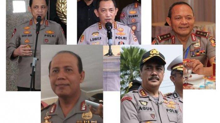 5 Nama Calon Kapolri Sudah Disetor ke Presiden Jokowi, Semuanya Sudah Bintang Tiga