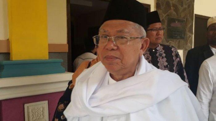 Kunjungi Berbagai Daerah di Indonesia, Kiai Maruf Bocorkan Caranya Menjaga Stamina