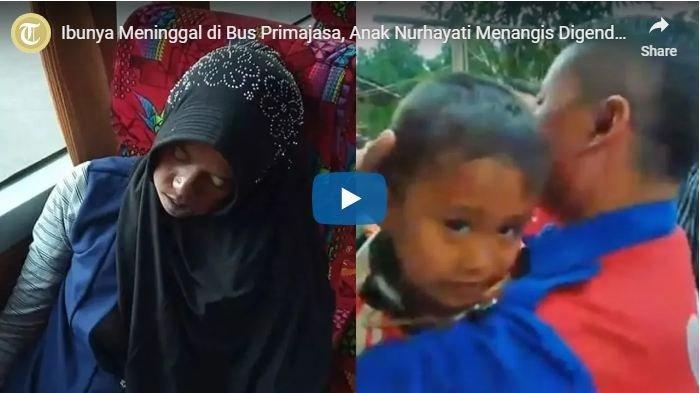 Mamah Kenapa Tidur Terus, Wanita Bawa Tiga Anak Kecil-kecil ini Ternyata Meninggal di Bus Primajasa