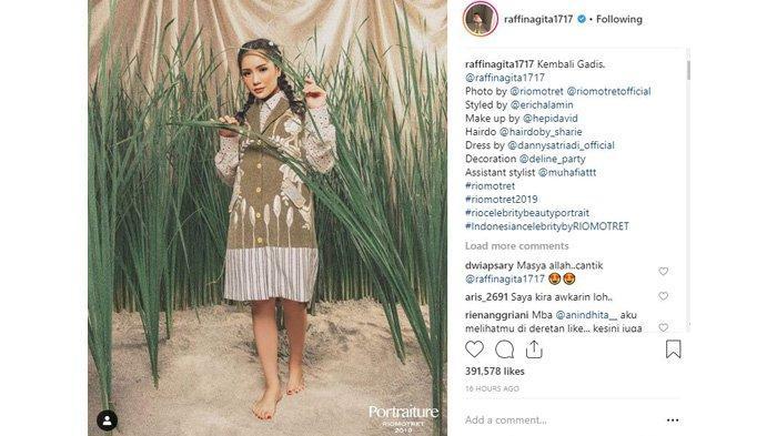 Nagita Slavina 'Kembali Gadis', Uggahan Foto Ini Banjir Komentar, Intip Potretnya di Sini