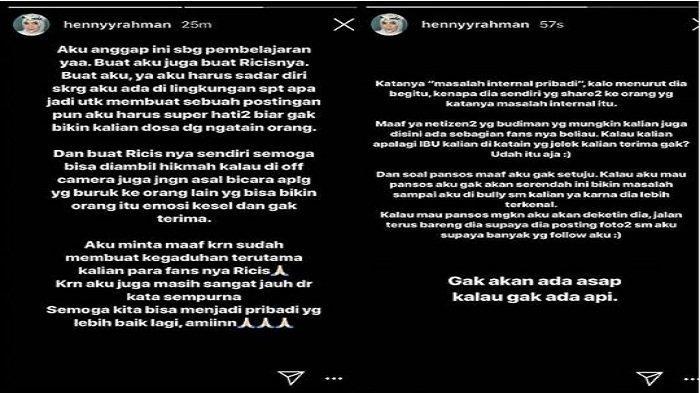 Ria Ricis Sudah Minta Maaf, Muncul Postingan Baru Istri Zikri Daulay, Benaran Damaikah?