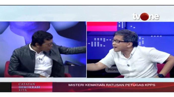 Debat Seru Rocky Gerung 'Dikeroyok' Adian & I Putu Bahas Misteri Banyak KPPS Wafat, Ini Videonya