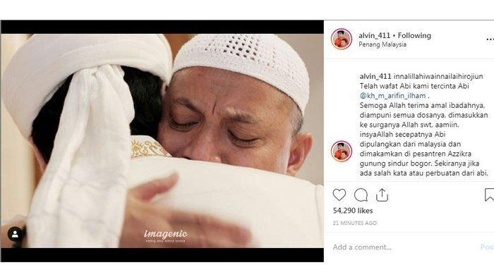 Kisah Masa Lalu Ustad Arifin Ilham, Hampir Mati Digigit Ular Paling Berbisa dan Mimpi Aneh