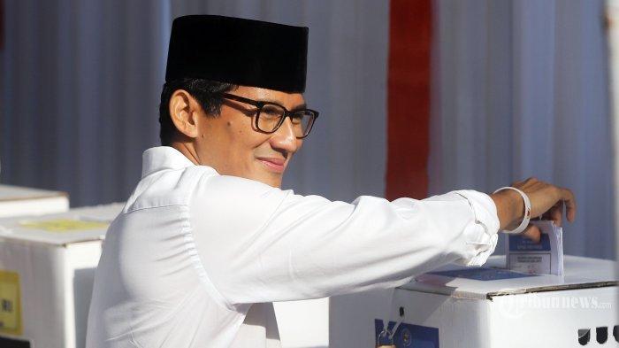 Beredar Kabar Sandiaga Uno dan AHY Masuk Daftar Menteri Kabinet Kerja Jokowi