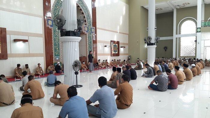 Gelar Ceramah Agama Sambut Ramadan, Algafry Harap ASN dan PKK Termotivasi