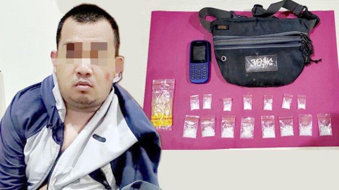Tim Kalong Sergap Pelaku Penyalahguna Narkotika, Barang Bukti 15 Paket Sabu Siap Edar