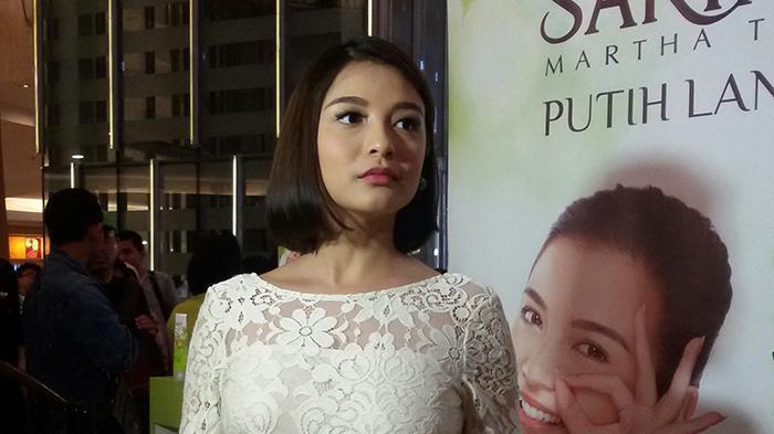 Chelsea Olivia ditemui dalam acara Brightspiration with Sariayu Putih Langsat di Mall Kelapa Gading 3, Jakarta Utara.