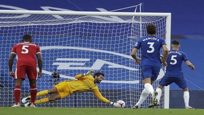 Hasil Chelsea vs Liverpool, Penyelamatan Gemilang Alisson Becker Warnai Kemenangan The Reds