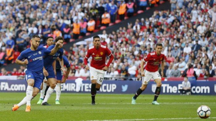 Eden Hazard Antarkan Chelsea Juarai Piala FA 2017-2018