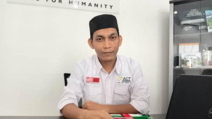 ACT Bangka Belitung Lakukan Aksi Peduli Datangkan Syekh Ismail Omar Hussein Abu Jouda dari Palestina
