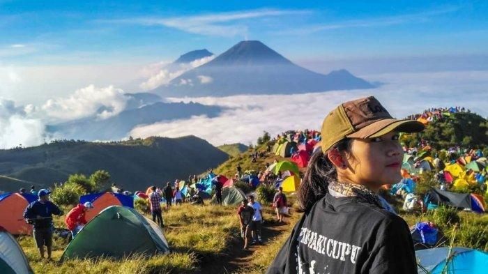 Cindy Wahyuni Mendaki Gunung Sejak Remaja, Kesan Pertama Lelah tapi Lama Kelamaan Bikin Ketagihan