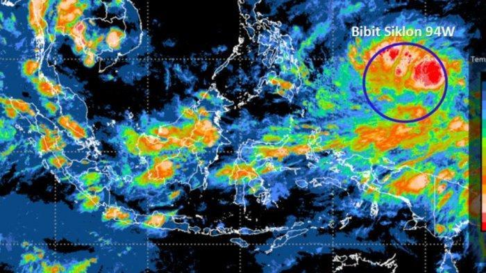 Termasuk Bangka Belitung, Daftar 30 Provinsi Diperingatkan BMKG soal Potensi Bibit Siklon Tropis 94W