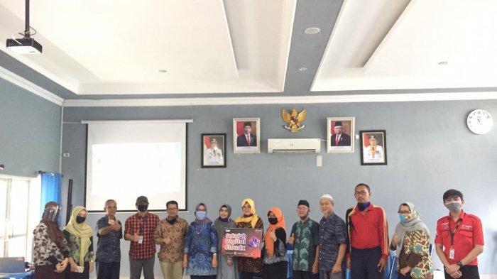 Telkomsel Bersama SMAN 1 Palembang Manfaatkan CloudX untuk Media Belajar
