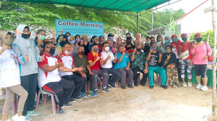 Warga Kampung Tegep Mandiri BGA 22 Bersinergi dengan Polsek dan KNPI Pangkalan Baru
