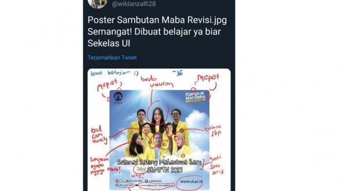 Cuitan netizen merevisi design poster UI 1