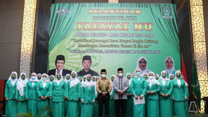 Gubernur Minta Kader Fatayat NU Semangat Dalam  Membina Umat