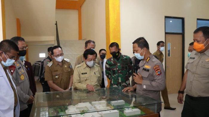 Wagub Abdul Fatah Ingin RS Bhayangkara Polda Babel Jadi Pemantik Bagi Rumah Sakit Lain