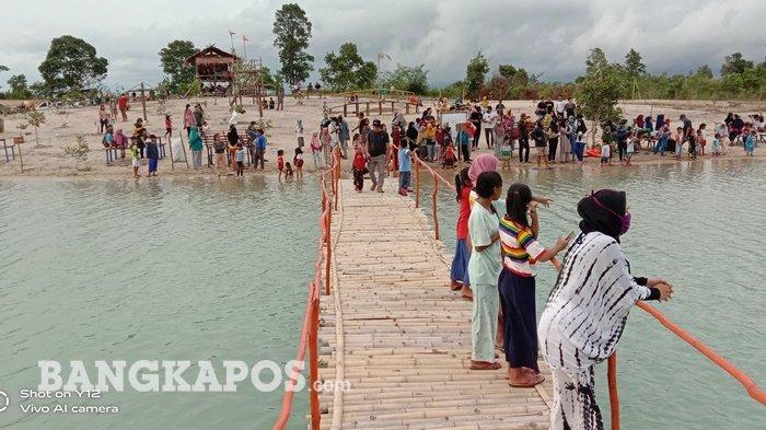 Pesona Danau Pading Desa Perlang, Destinasi Wisata Manjakan Mata Pengunjung